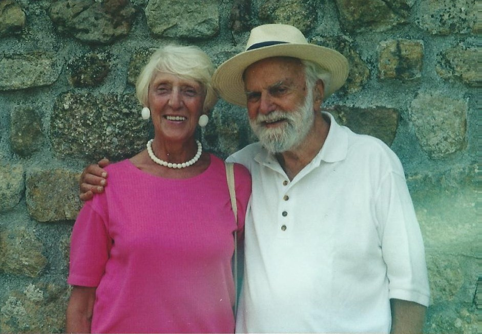 Douglas and Catherine Le Taillé -- photo by Colin Fox