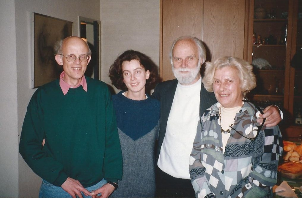 The Pype family with Douglas -- photo by Colin Fox
