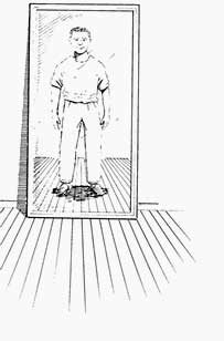 Experimento el espejo for Espejo de pared cuerpo entero